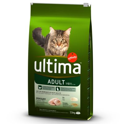 Ultima Cat Adult Chicken - 7,5 kg