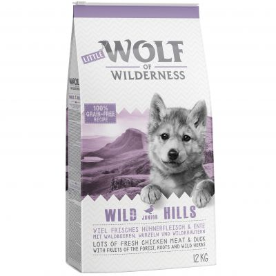 Little Wolf of Wilderness Junior - Wild Hills - ankka - 4 kg