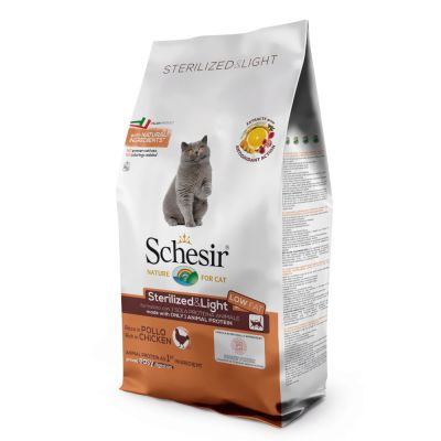 Schesir Sterilized & Light kana - 10 kg
