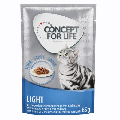 48x85g Light în Sos Concept For Life Hrana Umeda