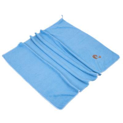 zoolove ručník z mikrovlákna TurboDry d 100 x š 70 cm světle modrý