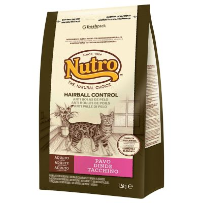Nutro Natural Choice Hairball Control - 6 x 1,5 kg