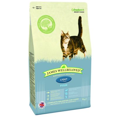 James Wellbeloved Cat Light Fish and Rice - 4 kg