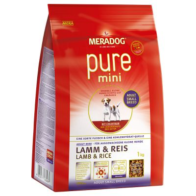 Mera Dog High Premium Pure Mini Lamb & Rice - 1 kg