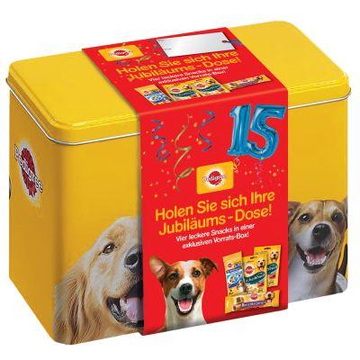 Pedigree-jubileumrasia – 4 erilaista herkkua keskikokoisille koirille