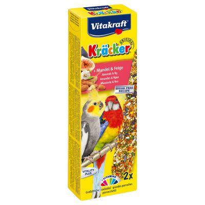 Vitakraft Kräcker Großsittich - 2 Sticks Honig & Eukalyptus (180 g)