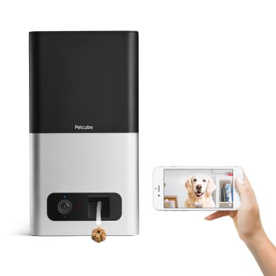 Petcube Bites Wi-Fi Haustierkamera mit Leckerli-Spender