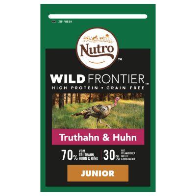 Nutro Wild Frontier Junior kalkkuna ja kana – 4 x 1,5 kg
