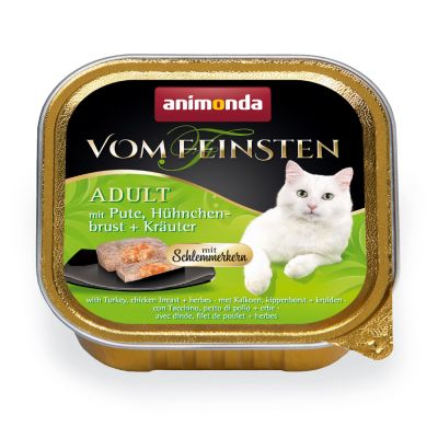 Animonda vom Feinsten Adult herkkutäytteellä 6 x 100 g - kana, nauta & porkkana