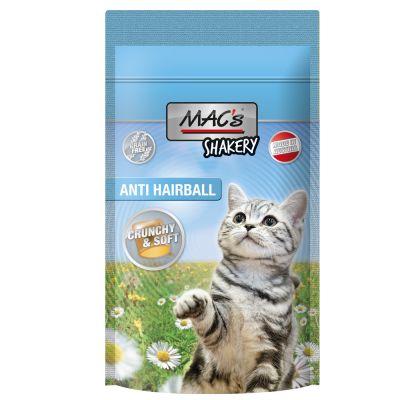 MAC's Shakery Snacks Anti-Hairball - 3 x 60 g