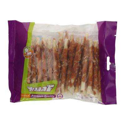 Braaaf palitos envueltos en pollo para perros - 280 g (12,5 cm)