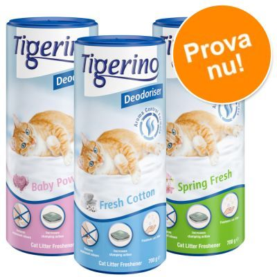 Tigerino Deodoriser i blandat provpack till kanonpris! - 3 olika dofter (3 x 700 g)