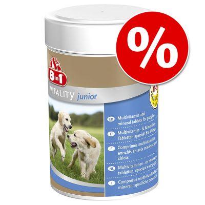 8in1-ravintolisät erikoishintaan! - 8in1 Vitality Adult, 70 tablettia