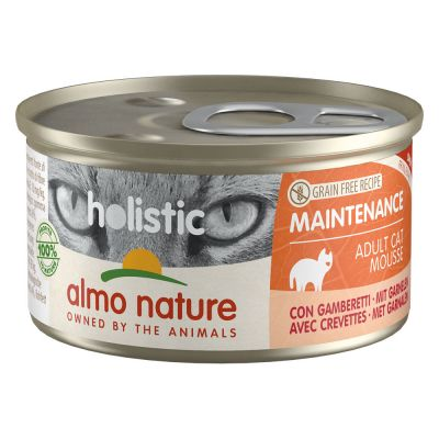 Almo Nature Holistic Maintenance 6 x 85 g - katkarapu