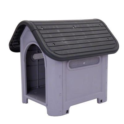 Polly hundkoja av plast – Stl. S: B 74 x D 60 x H 66 cm