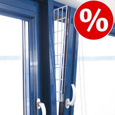 10 % rabatt! Trixie skyddsgaller för pivotfönster, sidodel - 2 st á L 62 × B 16/7 cm