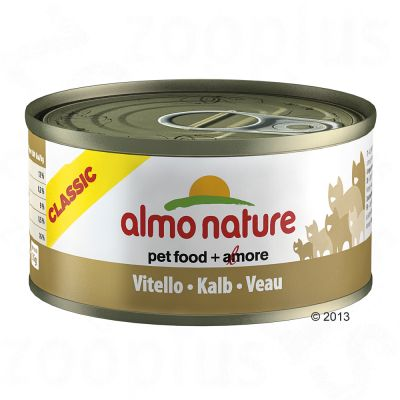 Almo Nature Classic 6 x 70 g – Kyckling & ananas