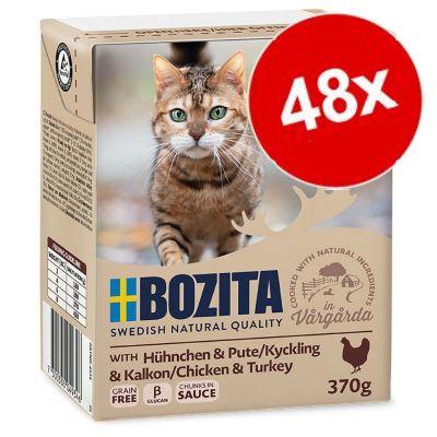 Ekonomipack: 48 x 370 g Bozita bitar i sås Nötkött