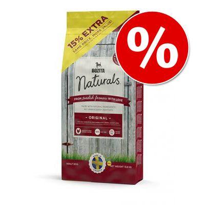 Bozita Naturals + 1,8 kg gratis! - Original (13,8 kg)