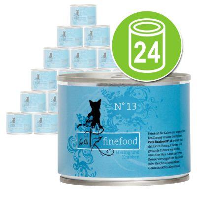 Catz Finefood -säästöpakkaus: 24 x 200 g - peura