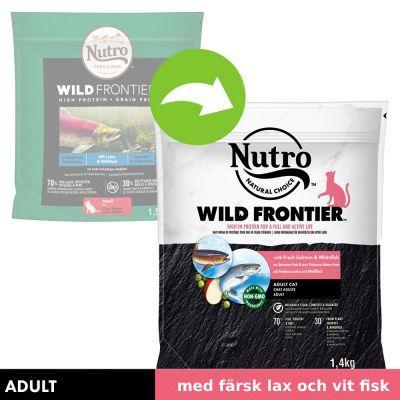 Nutro Wild Frontier Adult Salmon & White Fish - 4 kg