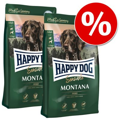 Säästöpakkaus: Happy Dog Supreme - 2 x 12 kg Fit & Vital Senior