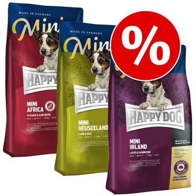 happy-dog-supreme-mini-lille-jordomrejse-3-x-4-kg-afrika-new-zealand-irland