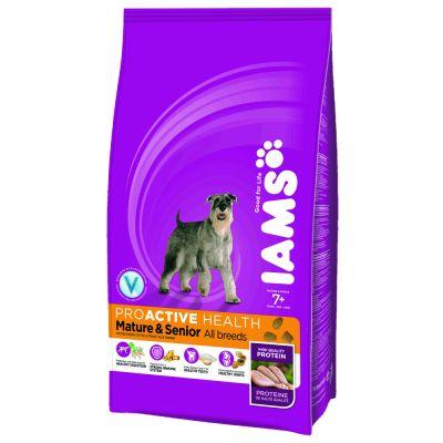 iams-proactive-health-mature-senior-hond-kip-hondenvoer-12kg