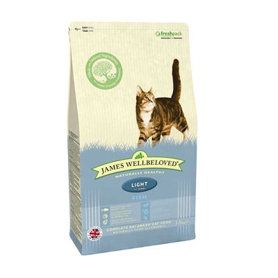 Fish Light Adult Cat Food James Wellbeloved