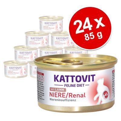 Ekonomipack: Kattovit Kidney/Renal 24 x 85 g - Kyckling