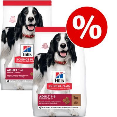 Hill's Science Plan Canine - Pack Ahorro - Adult 1-6 Small & Mini cordero (2 x 6 kg)