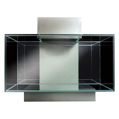 Fluval Edge 2.0 23 Liter - schwarz, Maße: L 43 x T 26 x H 22,4 cm
