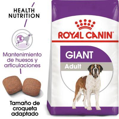 Royal Canin Giant Adult - 15 + 3 kg ¡gratis!