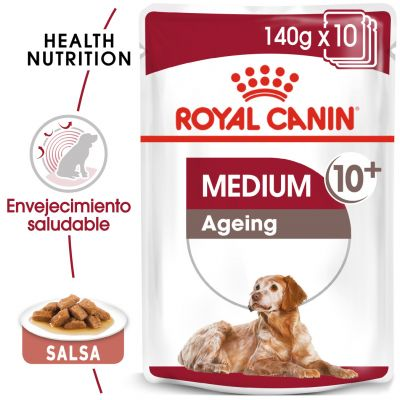 Royal Canin Medium Ageing comida húmeda para perros - 20 x 140 g - Pack Ahorro