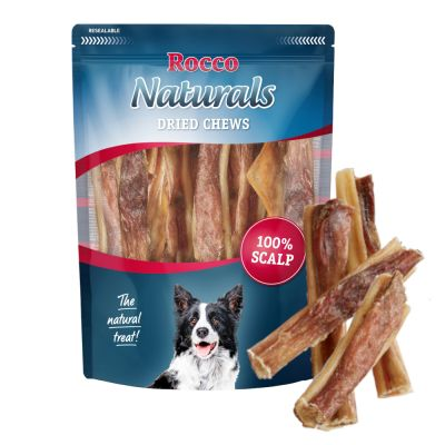 Rocco Naturals cuero cabelludo de buey para perros - 650 g