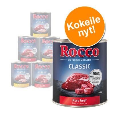Rocco-kokeilupakkaus 6 x 800 g, monta makua - Sensible
