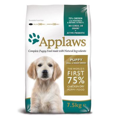 Applaws Small & Medium Breed Puppy Chicken - 7,5 kg