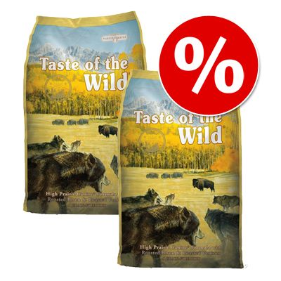 Pack Ahorro: Taste of the Wild 2 x 13 kg - Pack Mixto Mar y Aire