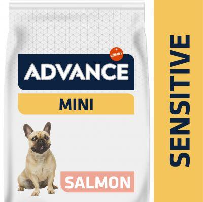 Advance Mini Sensitive salmón y arroz - 2 x 7,5 kg - Pack Ahorro