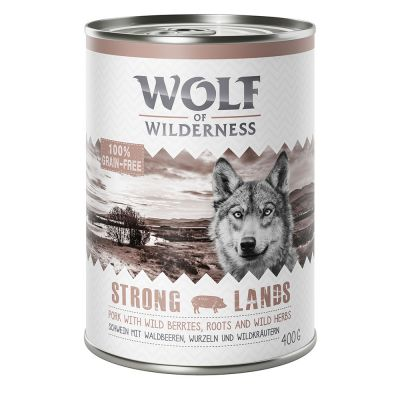 "Wolf of Wilderness Adult ""Strong Lands"" - Schwein"