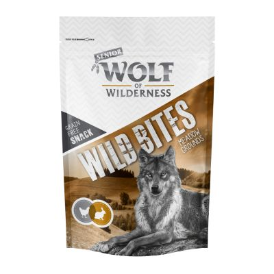 "Wolf of Wilderness Snack Wild Bites Senior ""Meadow Grounds"" - Konijn"