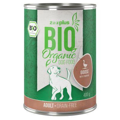 zooplus Bio husí s dýní 6 x 800 g
