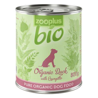 zooplus Bio kachní s batáty a cuketou (bez obilnin) 6 x 400 g