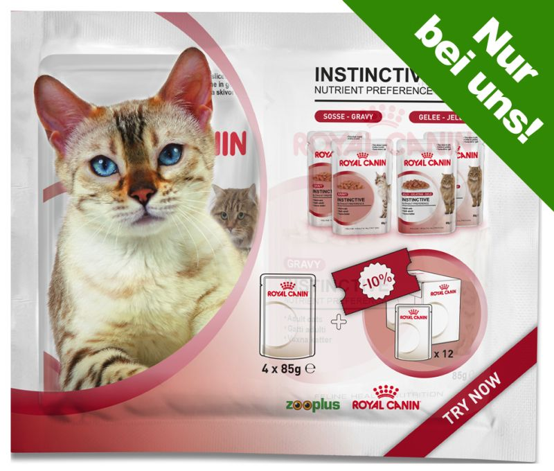 Royal Canin Probierpacks 4 x 85 g - 2 x Sterilised Soße & 2 x Sterilised Gelee