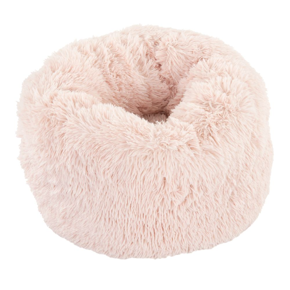 Katzenbett Mochi - rosa - Ø 55 x H 25 cm