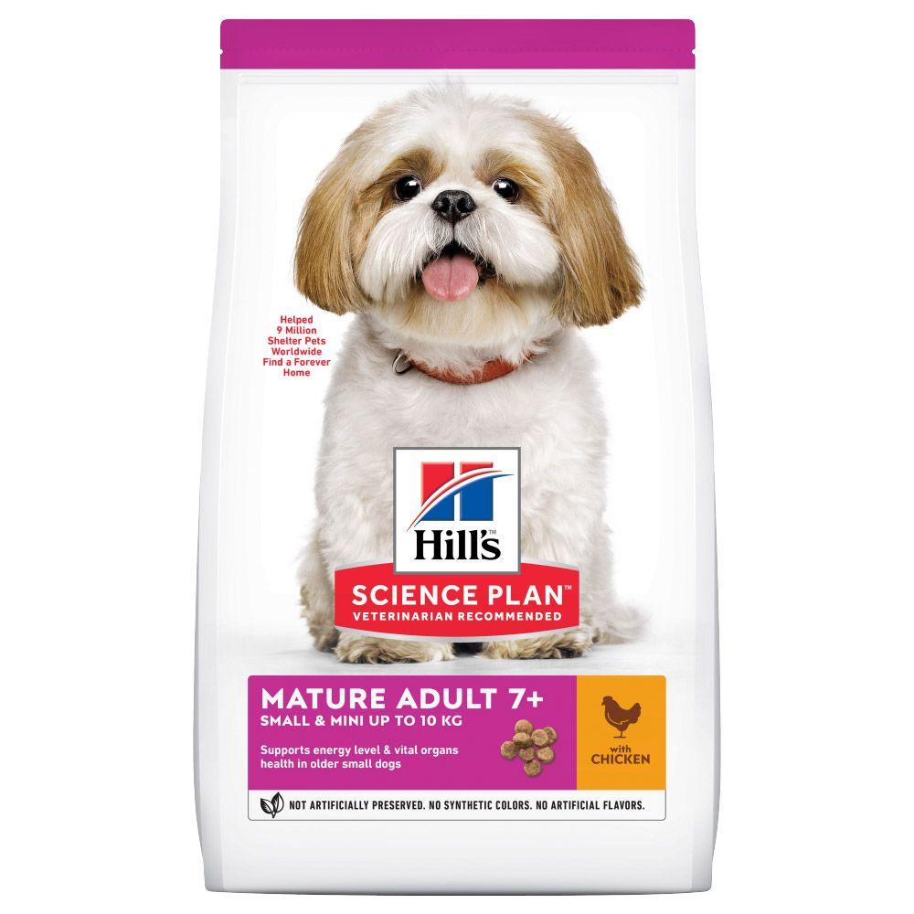 Hill's Science Plan Mature Adult 7+ Small & Mini mit Huhn - 6 kg