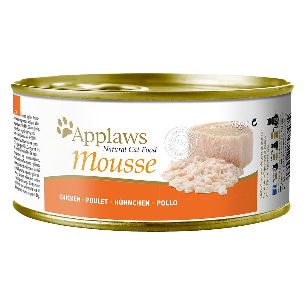 Applaws Mousse 6 x 70 g - Tonfisk