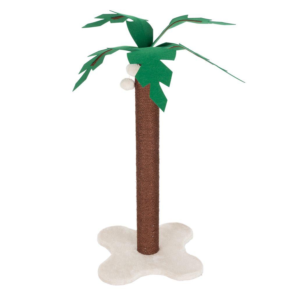 Kratzstamm Coco Palm - braun / creme
