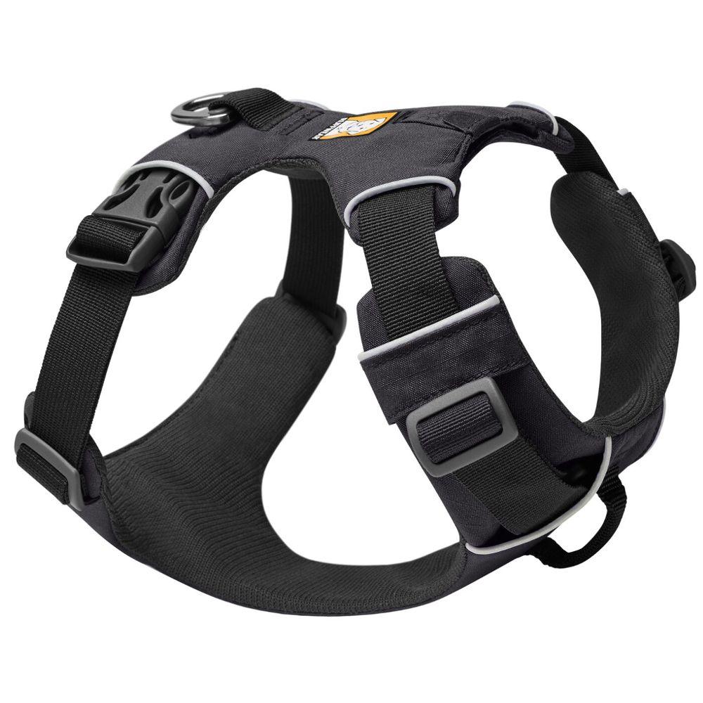Ruffwear Hundegeschirr Front Range Harness - Größe M: 69 - 81 cm Brustumfang, B 24 mm, rot