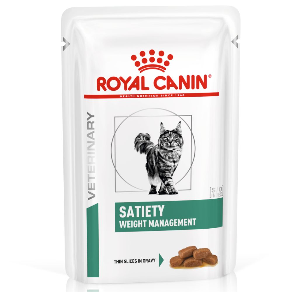 Royal Canin Veterinary Diet Feline Satiety Weight Management - 12 x 85 g